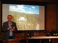 Guest Speaker Darryl Booker of Mission Hill Family Estate Winery